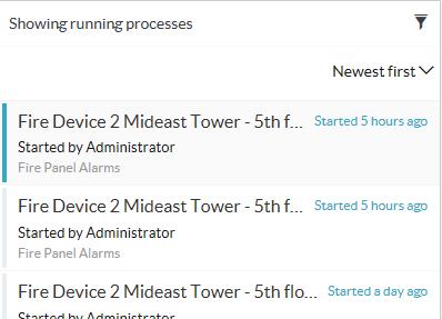 Smart Client Workspace - Workflow tab - Filter